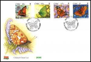 Ireland 1602-1605 Butterflies U/A FDC
