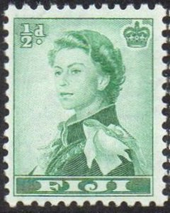 Fiji 1961 ½d emerald-green MH