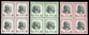 U.S. 1938 PRES. ISSUE 832-34  Mint (ID # 74325)