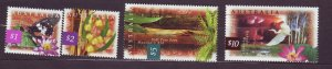 J23758 JLstamps 1996-9 australia hv,s of set mnh #1532-5 wildlife