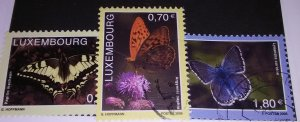 Presenting LUXEMBOURG 1172-4 used Butterflies