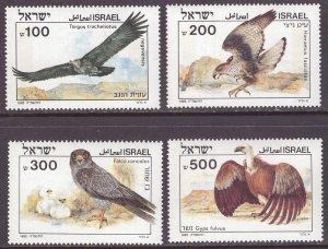 Israel MNH 896-9 Birds Of Prey 1985