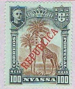Nyassa 58 MLH Giraffe 1911 (BP37815)