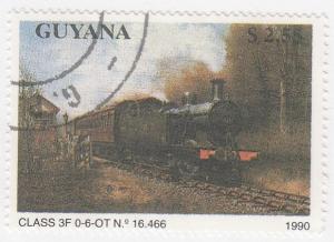 Guyana, Sc # 2293, CTO-NH, 1990, Locomotive, Train