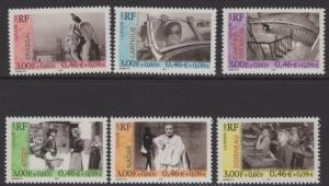 FRANCE SG3610/5 1999 FRENCH PHOTOGRAPHERS MNH