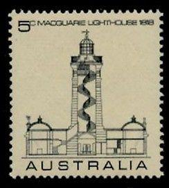 Australia 458 MNH Architecture, Lighthouse
