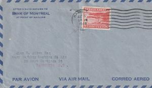 #259 Newfoundland Air Mail Cover