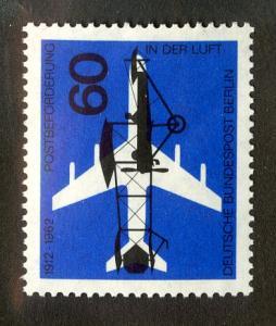 GERMANY BERLIN 9N208 MNH SCV $0.65 BIN $0.40 AIRPLANES