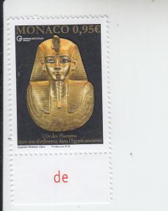 2018  Monaco Golden Treasure of the Pharaohs  (Scott 2939) MNH