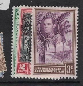 British Honduras SG 150-2 MOG (3dtf)