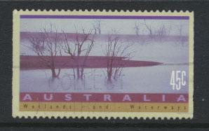 Australia SG 1320b  Used perf 14 - wetland & waterways
