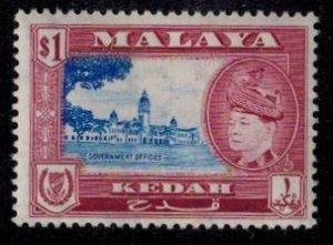 Kedah 91 MNH VF  Bright Color
