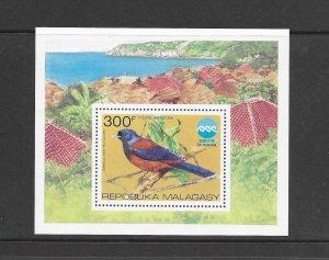 BIRDS - MALAGASY #C146  MNH