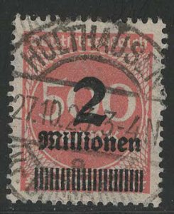 Germany Reich Scott # 271, used, exp h/s