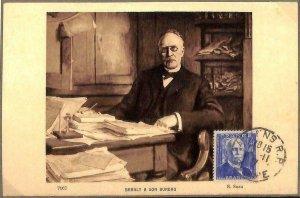 90117 - FRANCE - Postal History - FDC MAXIMUM CARD - 1947 Edouard BRANLY science