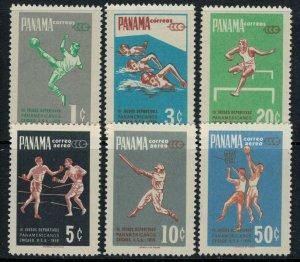 Panama #430-2,C224-6* NH  CV $6.15