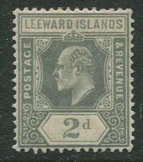 Leeward Is. - Scott 44 - KEVII - 1911 - Mint -  Single - 2p Stamp