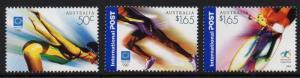AUSTRALIA SG2403/5 2004 OLYMPIC GAMES ATHENS MNH