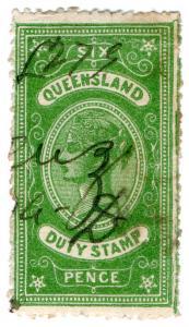 (I.B) Australia - Queensland Revenue : Stamp Duty 6d