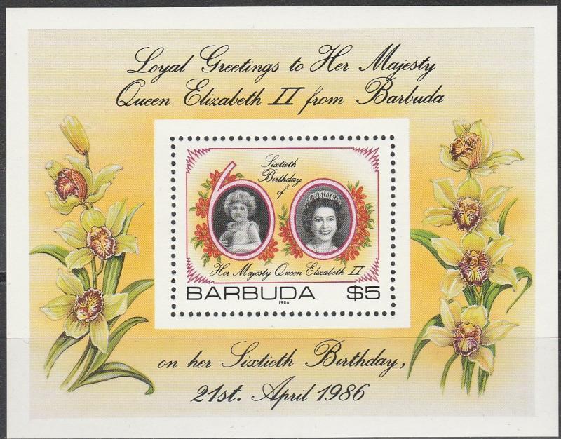 Barbuda #782 MNH CV $7.50  (A16596)