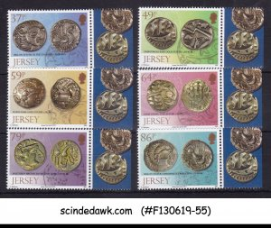 JERSEY - 2011 ARCHAEOLOGY / ANCIENT COINS - 6V - MINT NH