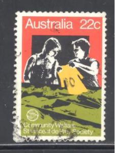 Australia Sc # 748 used (RS)