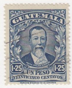 Guatamala, Sc # 217, Used, 1924, Pres. Barrios