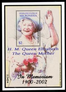 MICRONESIA 506 MNH S/S SCV $4.00 BIN $2.50 ROYALTY