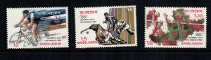 Bangladesh  253 - 255  MNH  $6.00