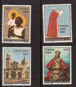 Vatican City 495-498 Mint VF NH