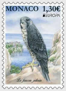 H01 Monaco 2019 Vögel Birds Europa MNH ** Postfrisch