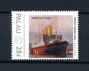 [90499] Palau  Ships Empress of Canada Ocean Liners Canadian Pacific  MNH