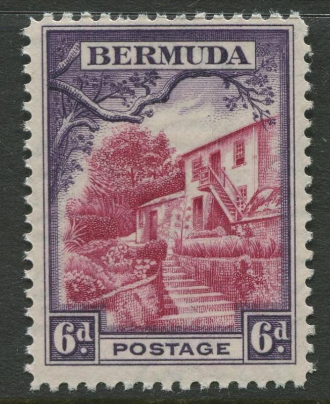 Bermuda - Scott 112 - Pictorial Definitives -1936 - MNH - Single 6p Stamp