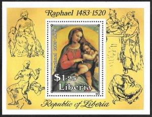 Liberia Mint Never Hinged ~ Souvenir Sheet ~ [9203]