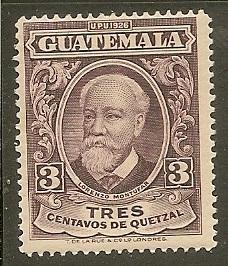 Guatemala    Scott 236    Montufar    MNH