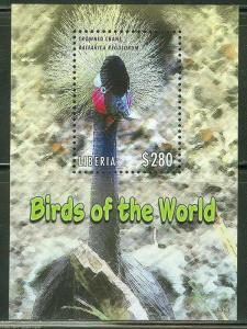 LIBERIA 2013 BIRDS  OF AFRICA SOUVENIR SHEET  I  MINT NEVER HINGED