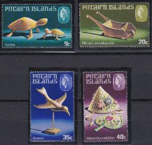 Pitcairn Islands 194-197 MNH (1980)