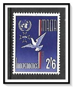 Malta #308 Independent State MHR