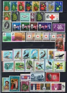 Montserrat QE Era Mint and Used Collection With Better See Scans