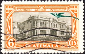 Guatemala #C105   Used
