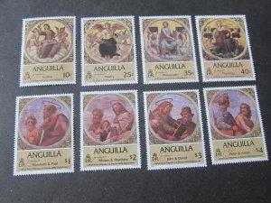 Anguilla 1984 Sc 569-76 Christmas Religion set MNH