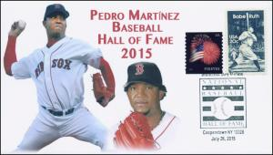 2015, Baseball Hall Of Fame, Pedro Martinez, Cooperstown NY, 15-347