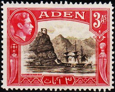 Aden.1939 3a  S.G.22 Mounted Mint