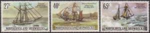 Norfolk Island 1982 SG287-292 Shipwrecks set MNH