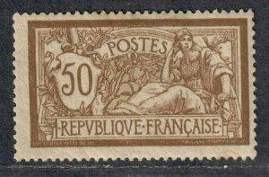 $France Sc#123 M/H/F-VF, Cv. $100
