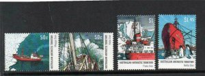 2003   A.A T  -  ANTARTIC SUPPLY SHIPS - SG: 160/163 - UNMOUNTED MINT