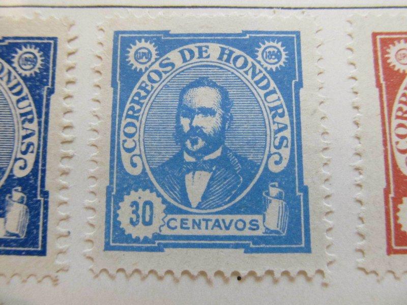Honduras 1896 30c fine mng stamp A11P12F41