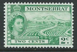 Montserrat SG 138 Mint Very Light Hinge
