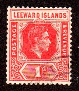 LEEWARD ISLANDS 105 USED SCV $6.75 BIN $1.70 ROYALTY