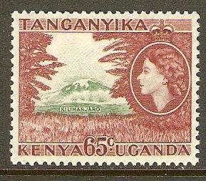 Kenya,Uganda & Tanzania #111 NH 65c Mt. Kilimanjaro Def.